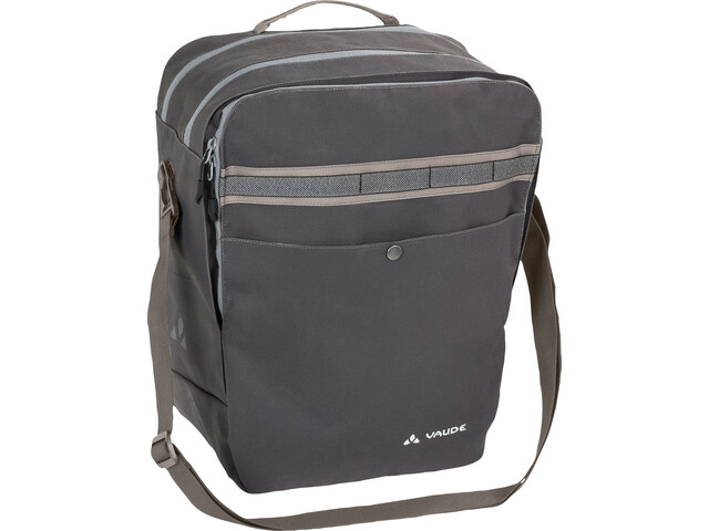 VAUDE Classic Back Bag phantom black